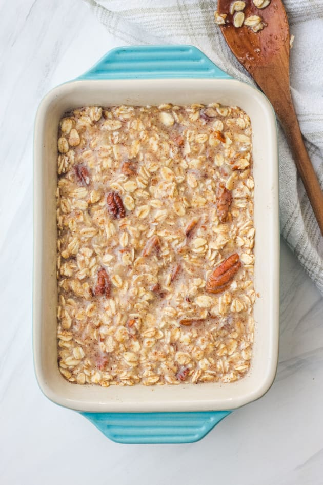 Toaster Oven Baked Oatmeal Image