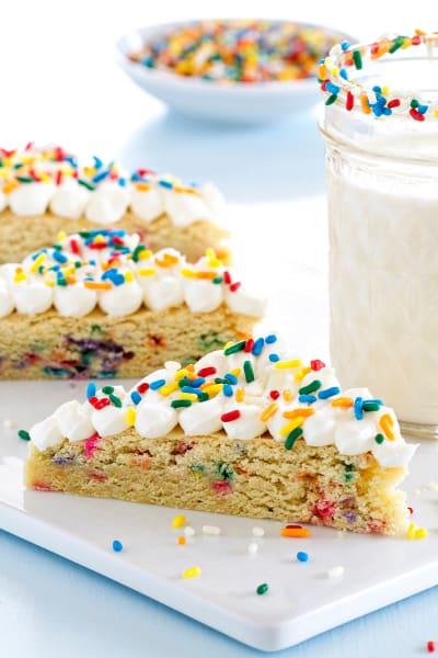 Funfetti Sugar Cookie Bars Image