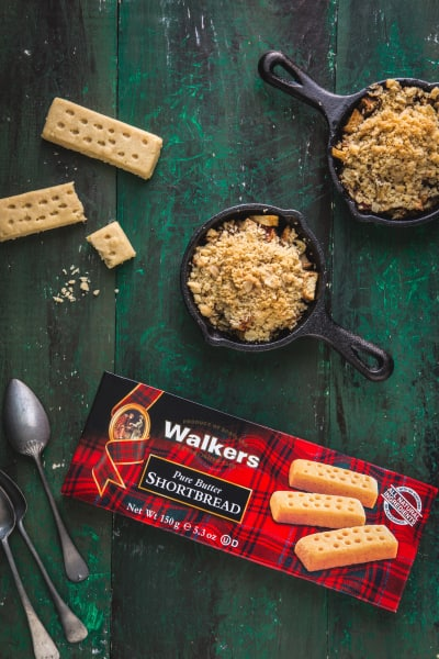 Walkers Shortbread Mini Apple Pear Crisps Pic