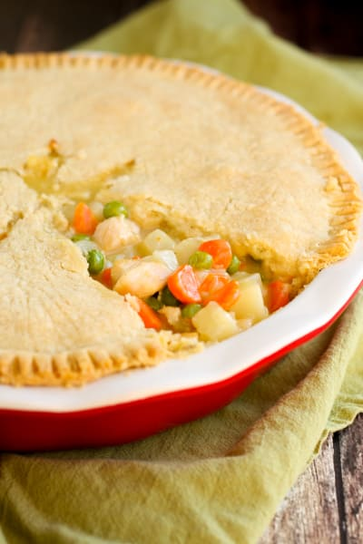 Gluten Free Chicken Pot Pie Picture