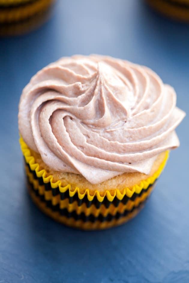 Banana Nutella Cupcakes Pic