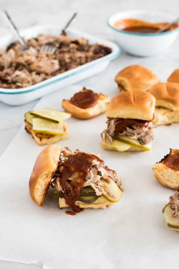Kalua Pork Sliders with Guava Rum BBQ Sauce Picture