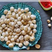 Roasted Makhana - Foxnut / Lotusnut Seeds Recipe