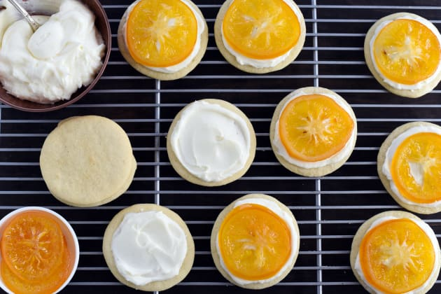 Candied Meyer Lemon Cookies Photo
