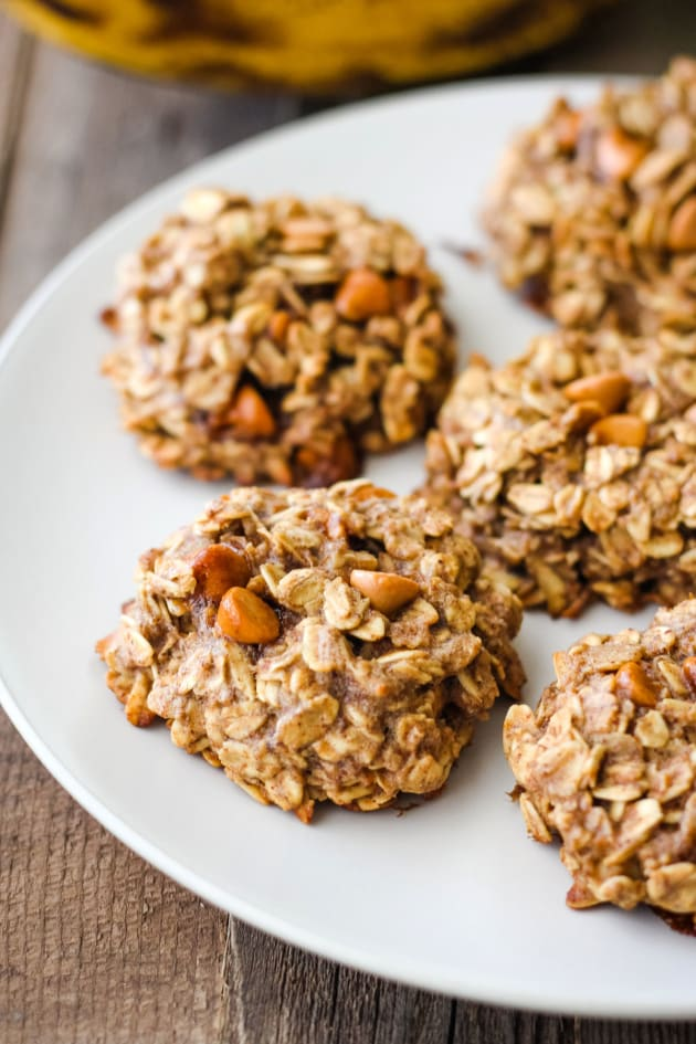 Butterscotch Banana Oatmeal Cookies Picture