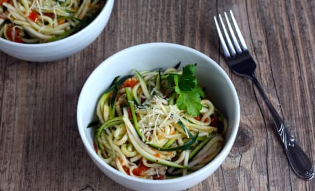 Zucchini Ribbon Salad Picture