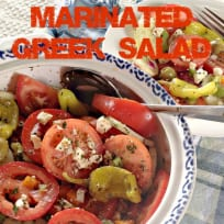 Marinated Greek Salad