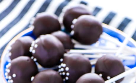 Gluten Free Chocolate Cake Pops Picture