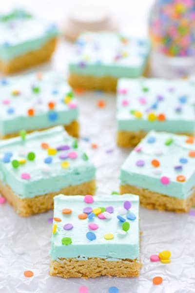 Gluten Free Sugar Cookie Bars Pic