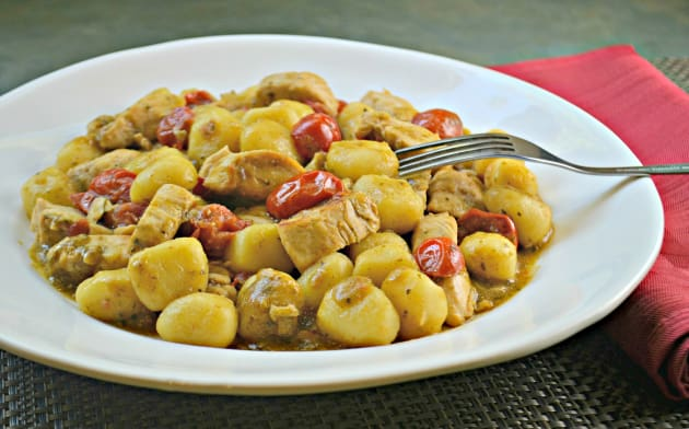 Chicken Pesto Gnocchi Photo