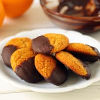 Gluten Free Chocolate Orange Cookies Recipe