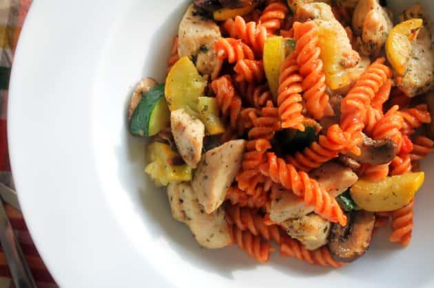 Gluten Free Pasta Primavera Photo