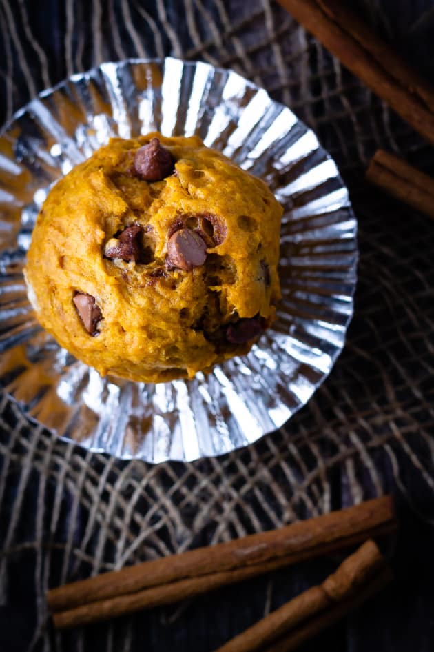 Chocolate Chip Pumpkin Muffins Pic
