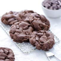 Gluten Free Double Chocolate Chunk Cookies Recipe