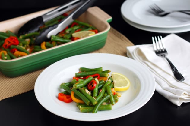 Green Bean Salad with Lemon Harissa Dressing Picture