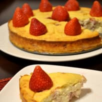 Protein Strawberry Cheesecake