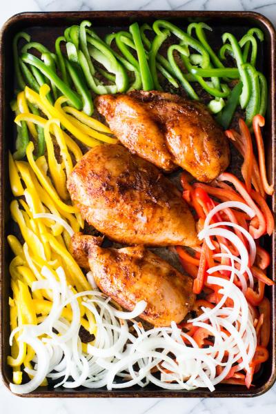 Sheet Pan Chicken Fajitas Picture