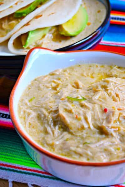 Slow Cooker Creamy Salsa Verde Chicken Image