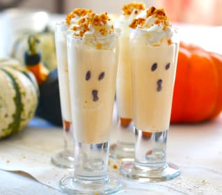 Pumpkin Pie Ice Cream Shooters