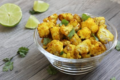 Turmeric Roasted Cauliflower