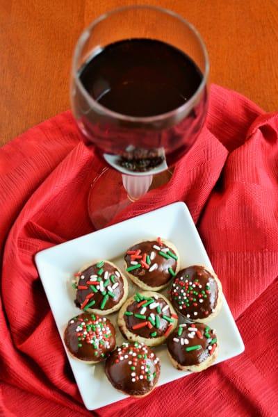 Chocolate Orange Cookies Picture
