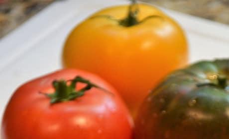 Caprese Tomato Stacks Picture