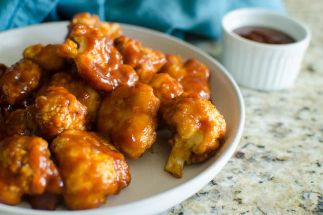 Paleo Baked BBQ Cauliflower Wings Photo