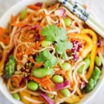 Spring Vegetable Pad Thai Recipe