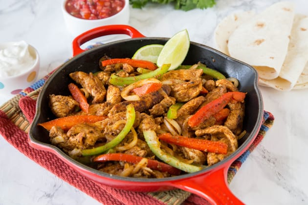 Easy Chicken Fajitas Photo
