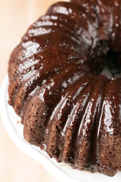 Dark Chocolate Avocado Cake Picture