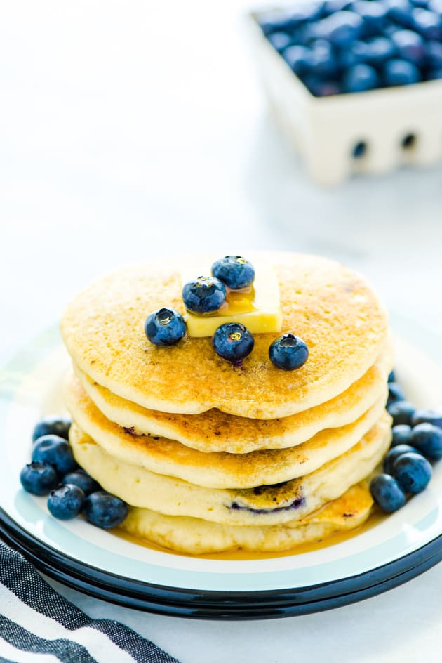 Gluten Free Blueberry Pancakes Picture