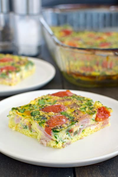 Ham and Tomato Egg Bake Picture