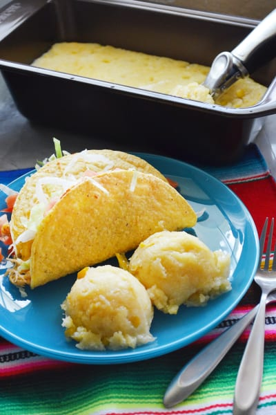 Slow Cooker Mexican Corn Cakes Picture