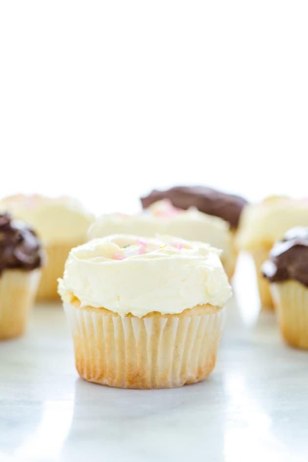 Gluten Free Vanilla Cupcakes Image