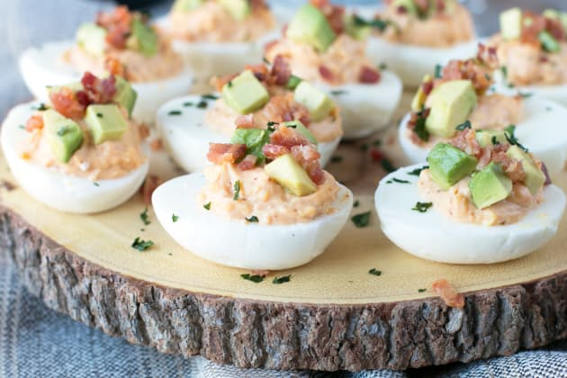 Chipotle Bacon Deviled Eggs Photo