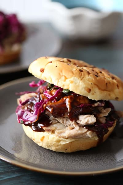 Asian BBQ Pork Sandwiches Pic