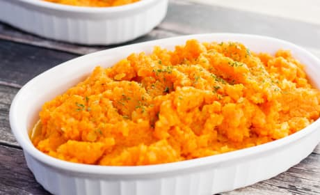 Mashed Carrots and Turnips Photo