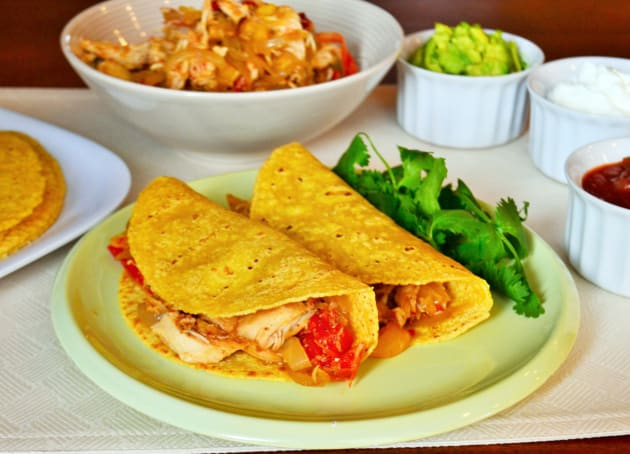 Slow Cooker Chicken Tacos Photo