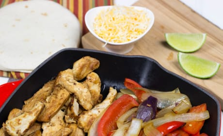 Homemade Chili's Chicken Fajitas Recipe