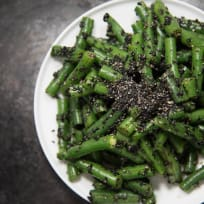 Japanese Side Dish | Green Bean Goma-ae (sesame soy dressing)