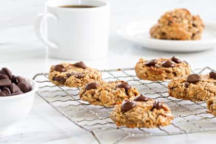 Chocolate Almond Breakfast Cookies