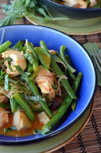 Thai Chicken with Green Beans