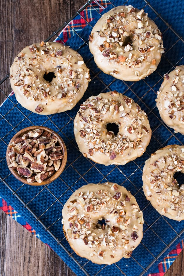 Apple Praline Donuts Pic