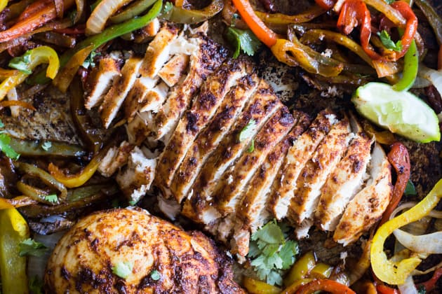 Sheet Pan Chicken Fajitas Photo