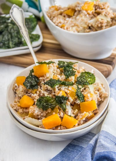 Winter Farro Salad Picture