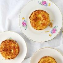 Toasted Coconut Cream Tarts Recipe