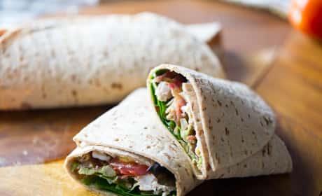 Cobb Salad Wrap Recipe