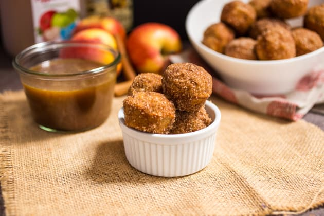 Apple Cider Donut Holes Photo
