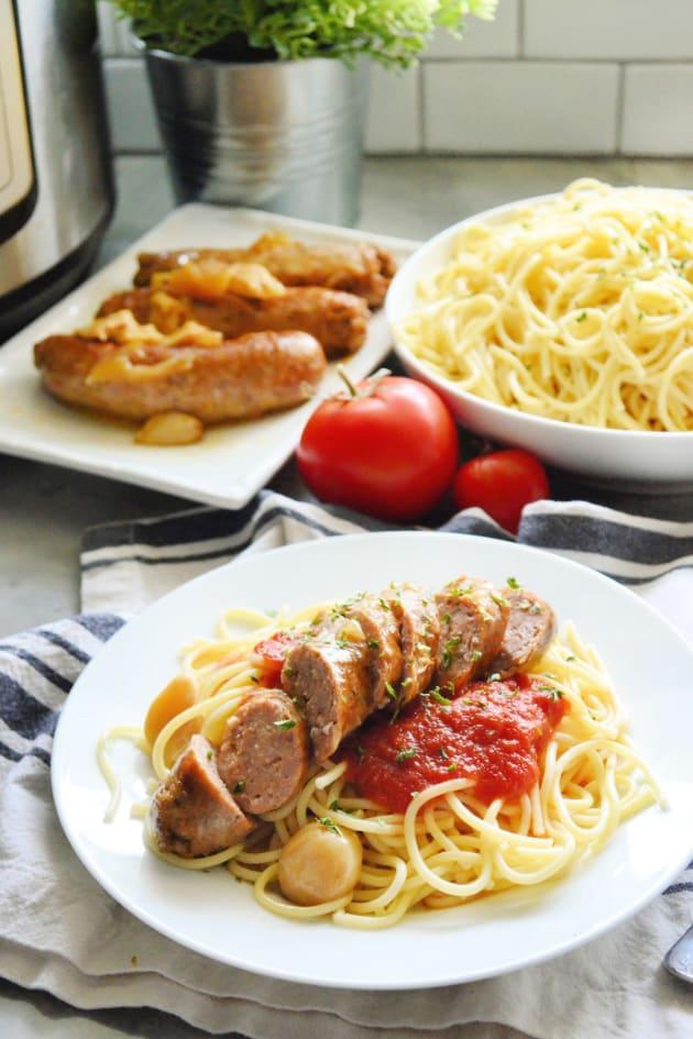 Instant Pot Italian Sausage Picture