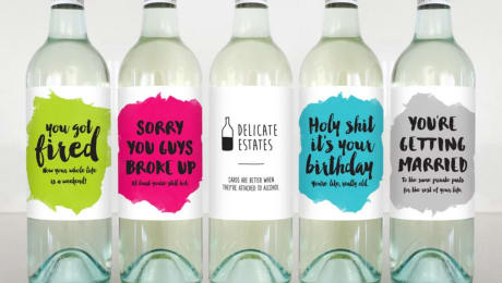 12 Wine Bottle Labels That Tell It Like It is